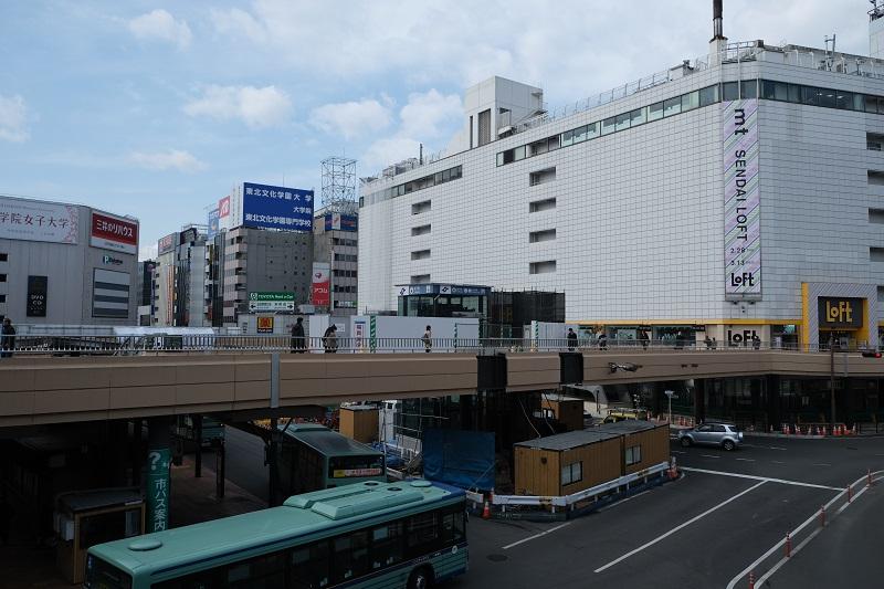 仙台東改札への直行エレベーターの写真