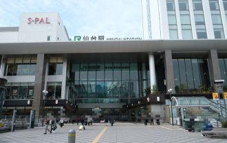 仙台駅東口の風景写真をXーT3で撮影した写真