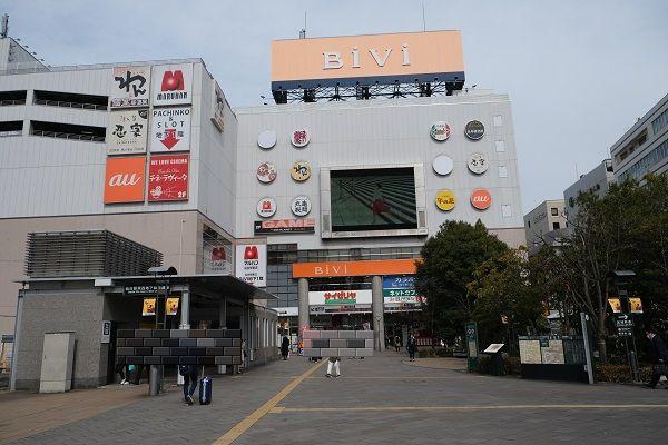 仙台駅東口丸亀製麺の場所の写真