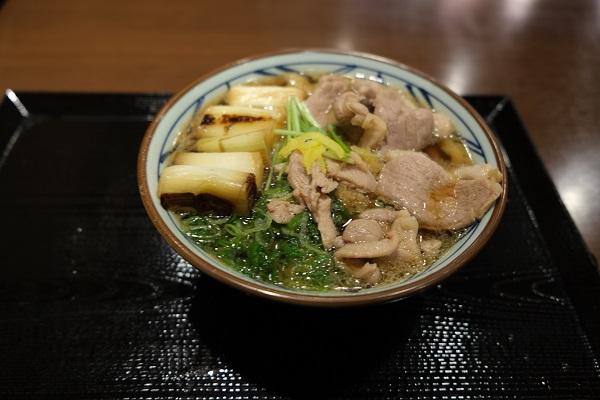 丸亀製麺鴨ねぎうどんの写