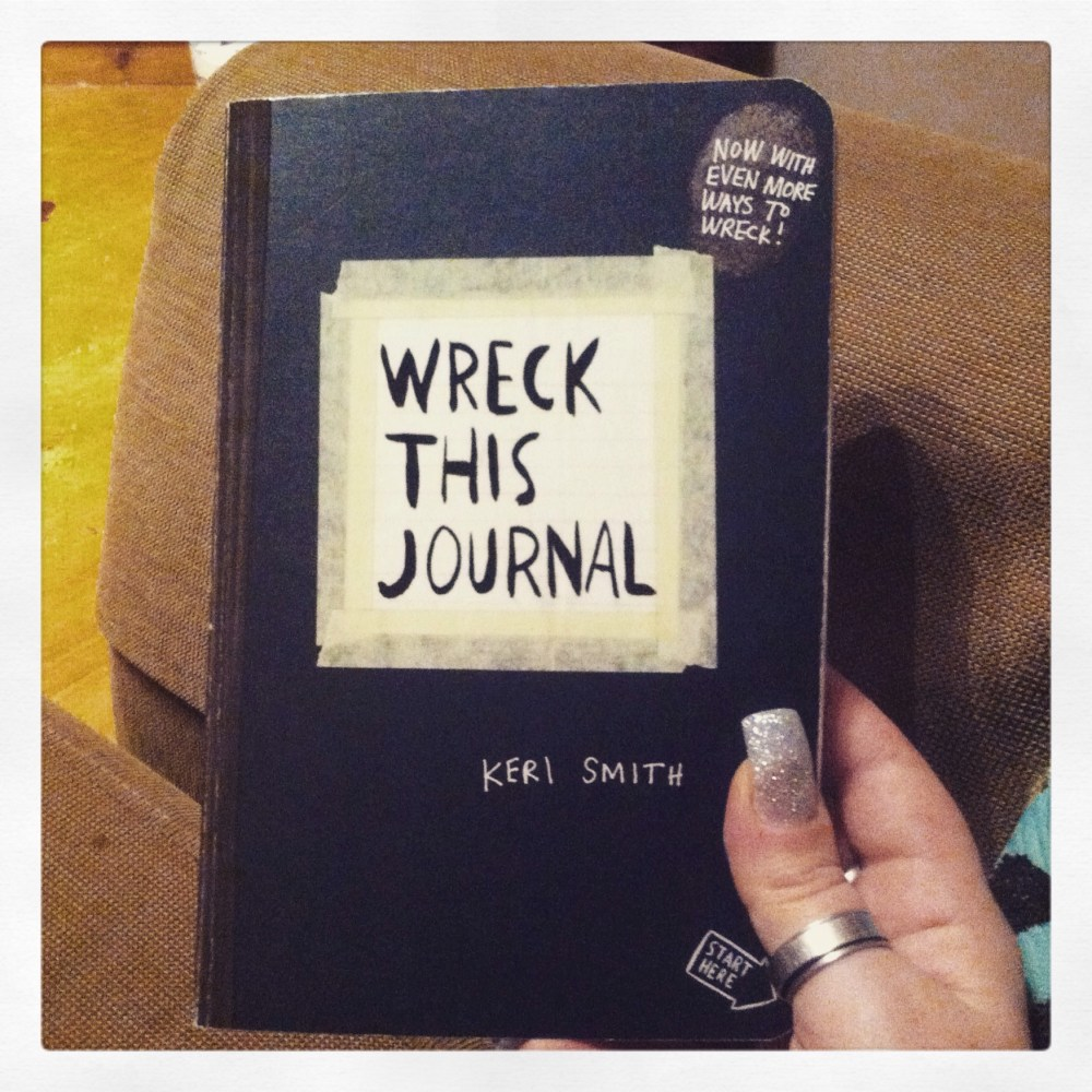 Wreck this Journal (1/3)