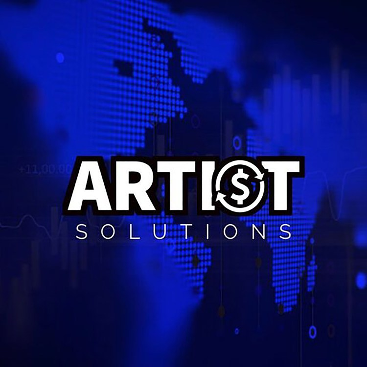 Artist Revenue Solutions logo on artrevsol.com record deal music marketing