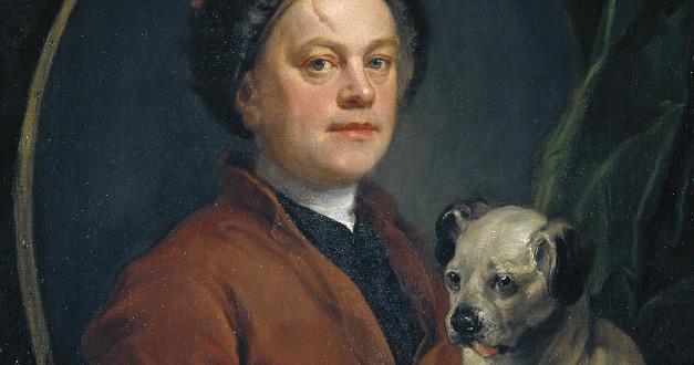 OBRA DE ARTE DA SEMANA: O pintor e seu cachorro, de Hogarth