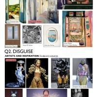 AQA Art and Design Exam Themes