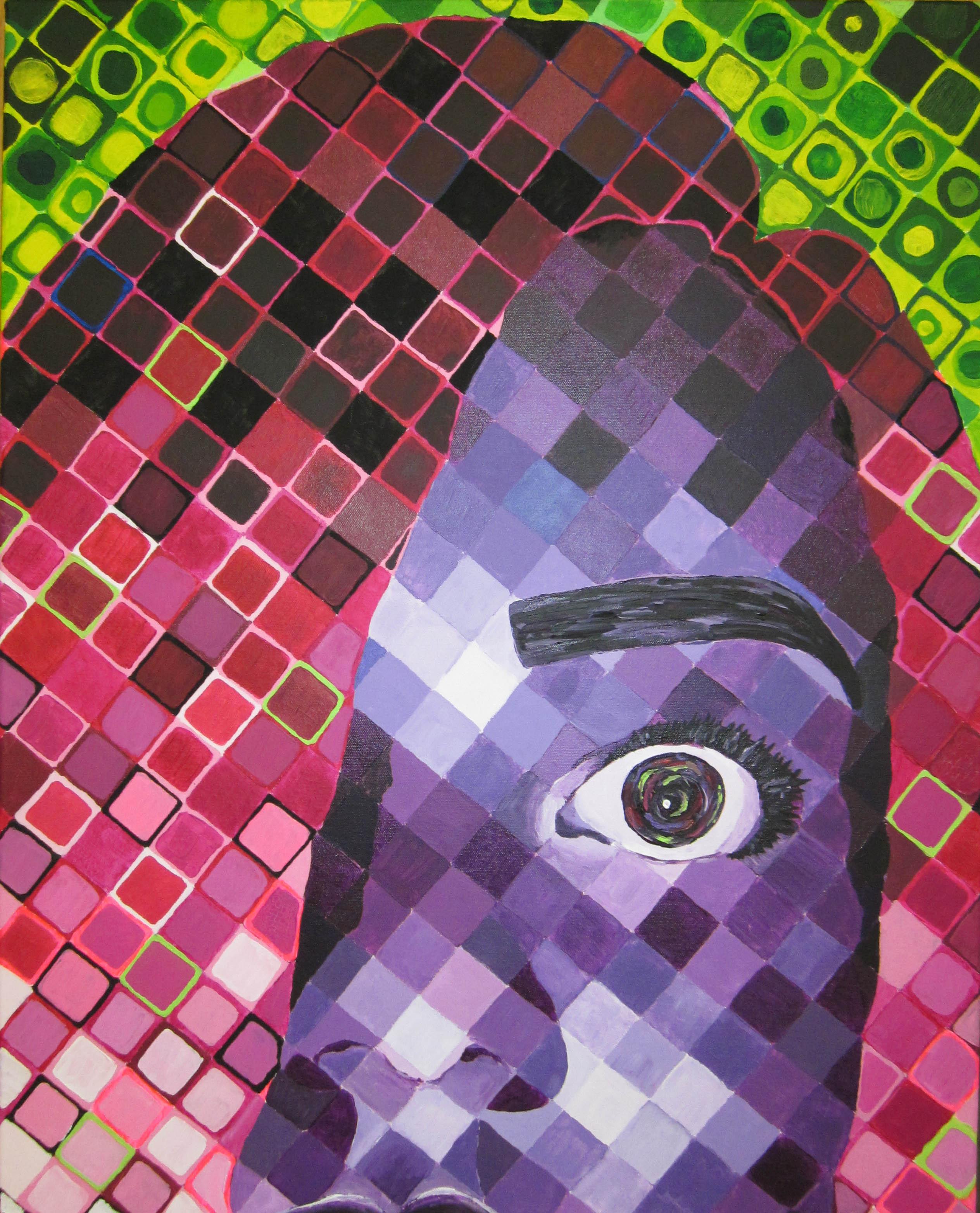 Chuck Close Art Room Online