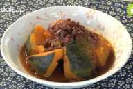 小豆の甘い風味とマッチ!かぼちゃのいとこ煮の作り方・レシピ