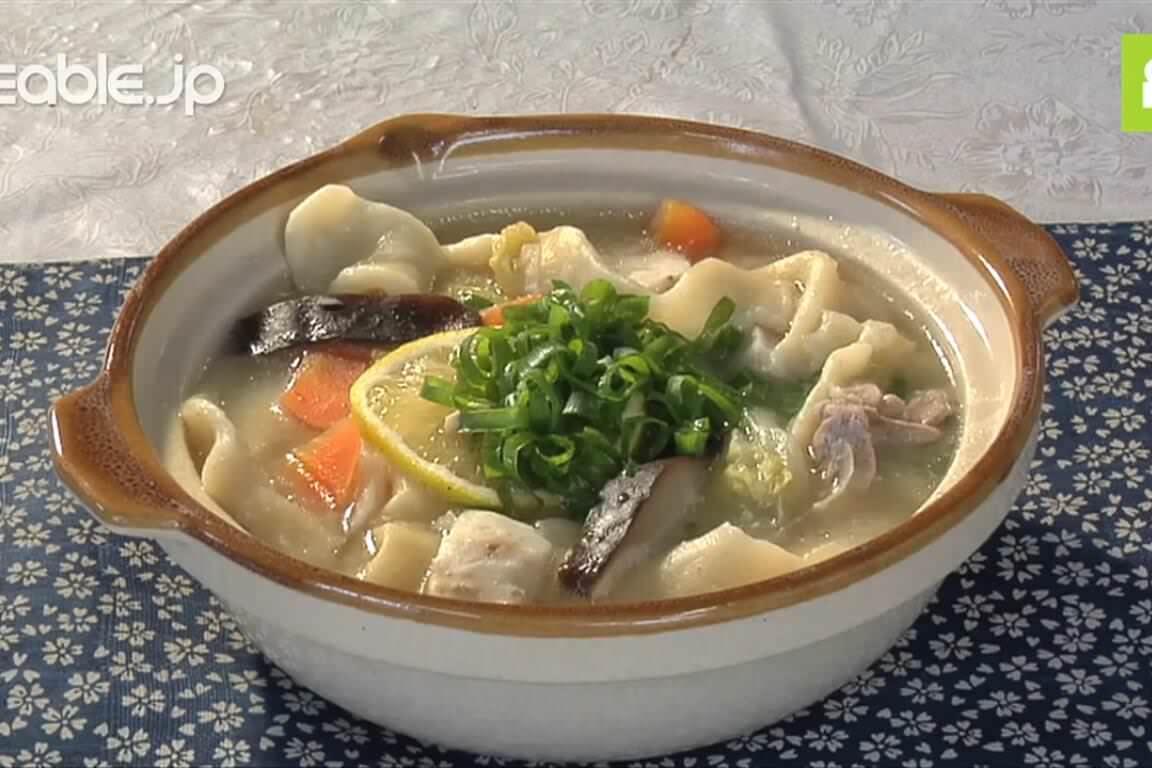 大分県の郷土料理で有名!とても美味しいだんご汁の作り方・レシピ
