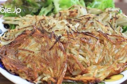カリカリのホクホク!簡単にできるじゃがいもおやきの作り方・レシピ