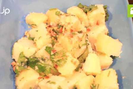パクチーがアクセントに!美味しいタイ風ポテトサラダの作り方・レシピ