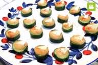 ヘルシーなおつまみに!きゅうりと味噌のチーズカナッペの作り方・レシピ