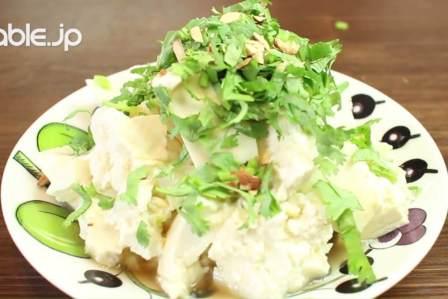 豆腐をエスニック風にアレンジ!アジア風崩し豆腐の作り方・レシピ