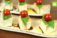 見た目が可愛くて美味しい!お豆腐カプレーゼの作り方・レシピ