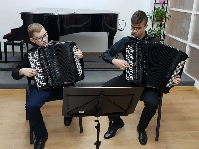 Kacper Kosztyła i Filip Siwiecki