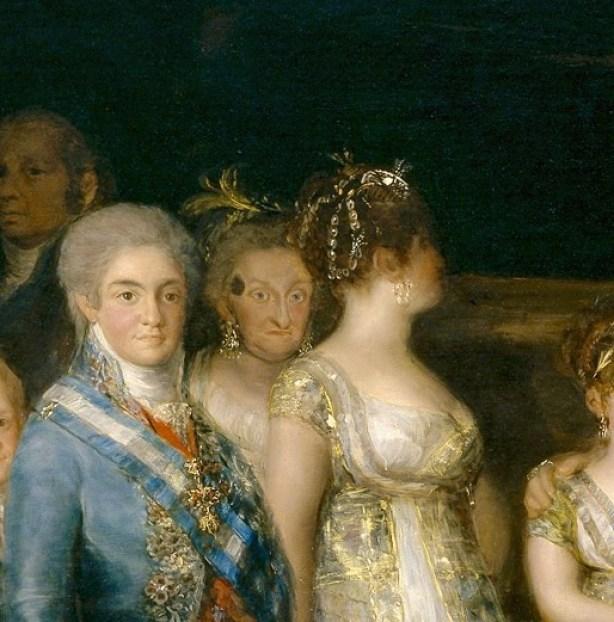 Портрет королевской семьи Гойя