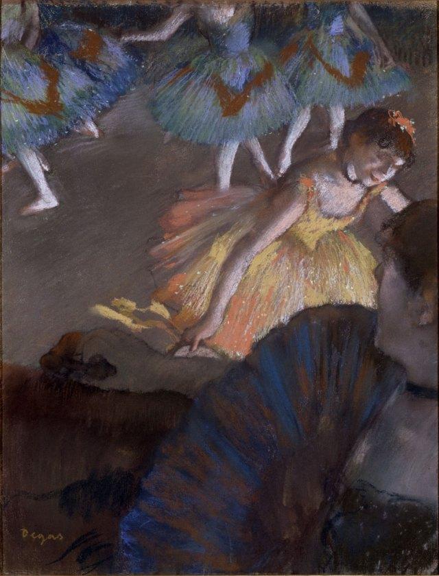Дега балерины
