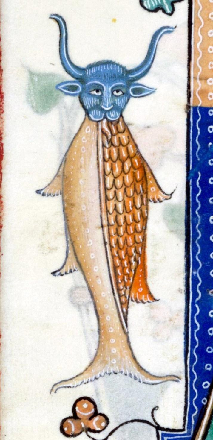 Средневековый псалтырь