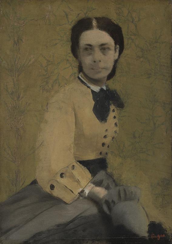 Дега портрет
