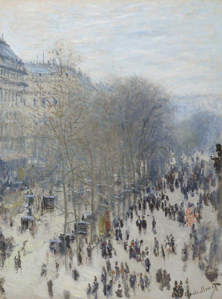 Моне Бульвар Капуцинок в Париже