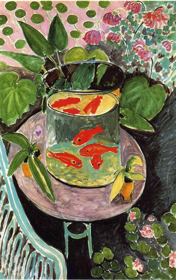 Матисс рыбки