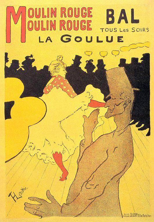 Тулуз-лотрек плакат
