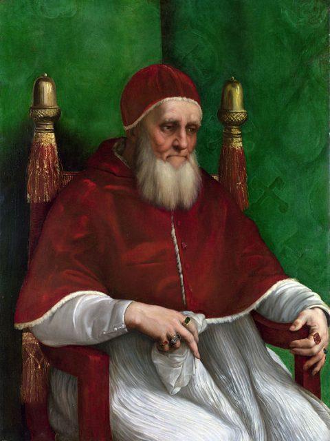 Рафаэль папа Юлий II