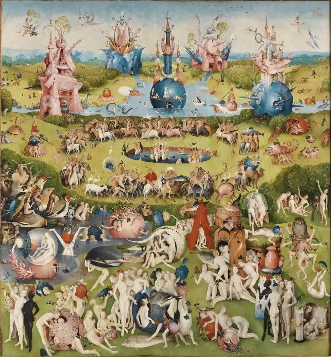 Босх центральная часть триптиха