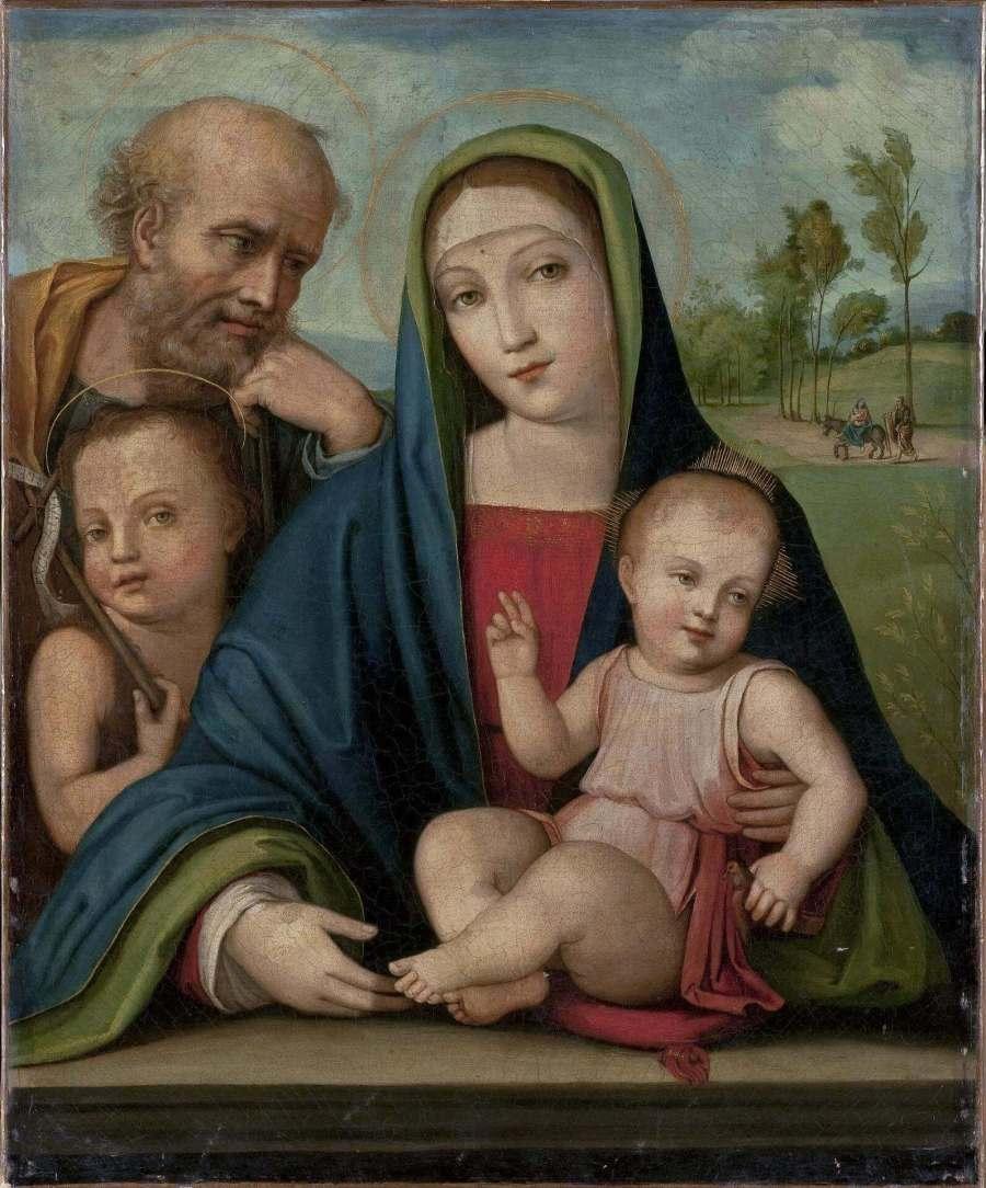 Франча мадонна с младенцем