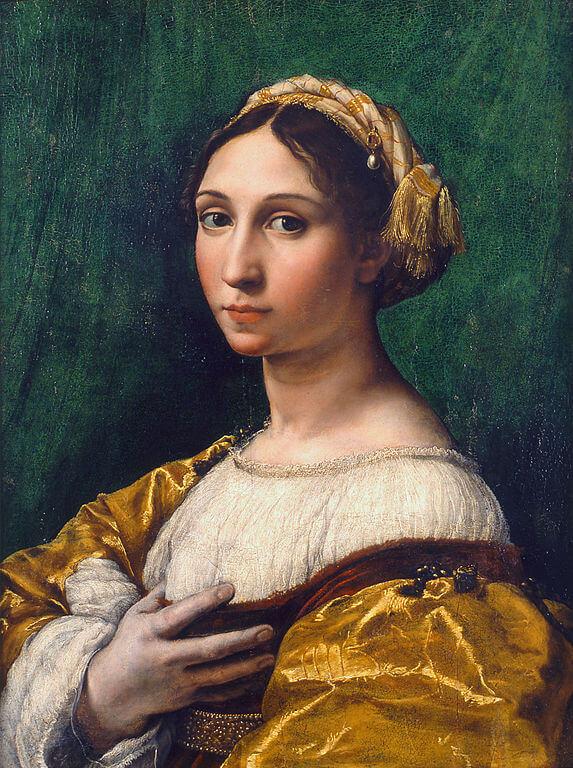 Рафаэль Портрет молодой женщины