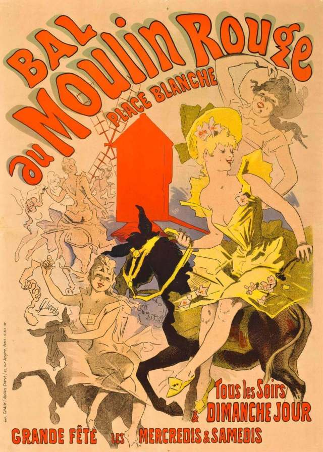 Шере плакат Мулен-Руж