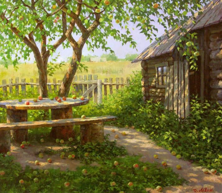 Дмитрий Левин яблочный спас