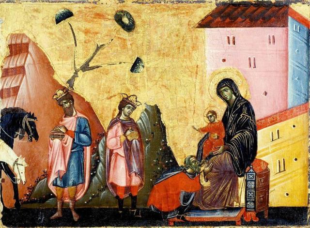 Гвидо да Сиена поклонение волхвов