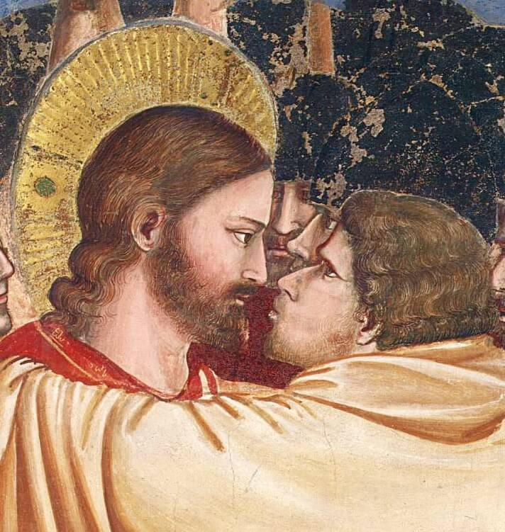Джотто поцелуй Иуды