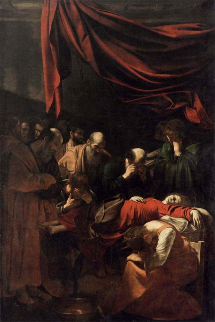 Караваджо Успение Марии