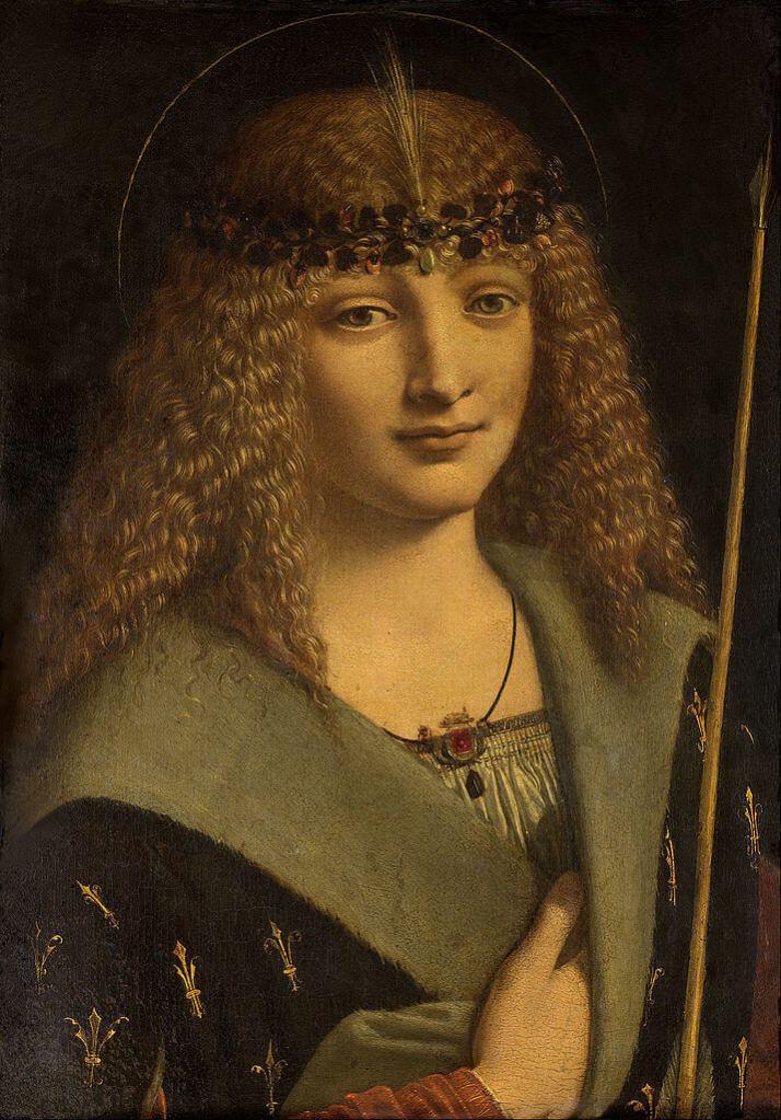 Больтраффио портрет юноши