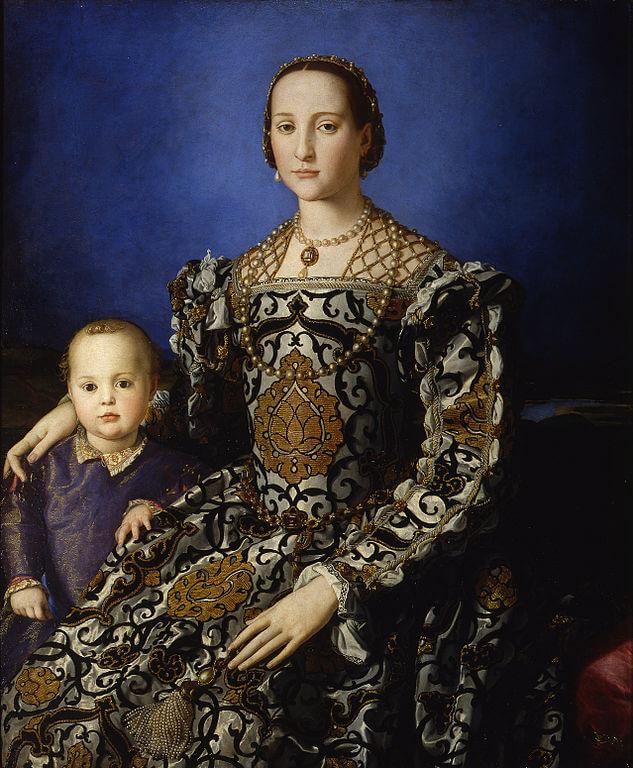 Бронзино Элеонора толедская с сыном