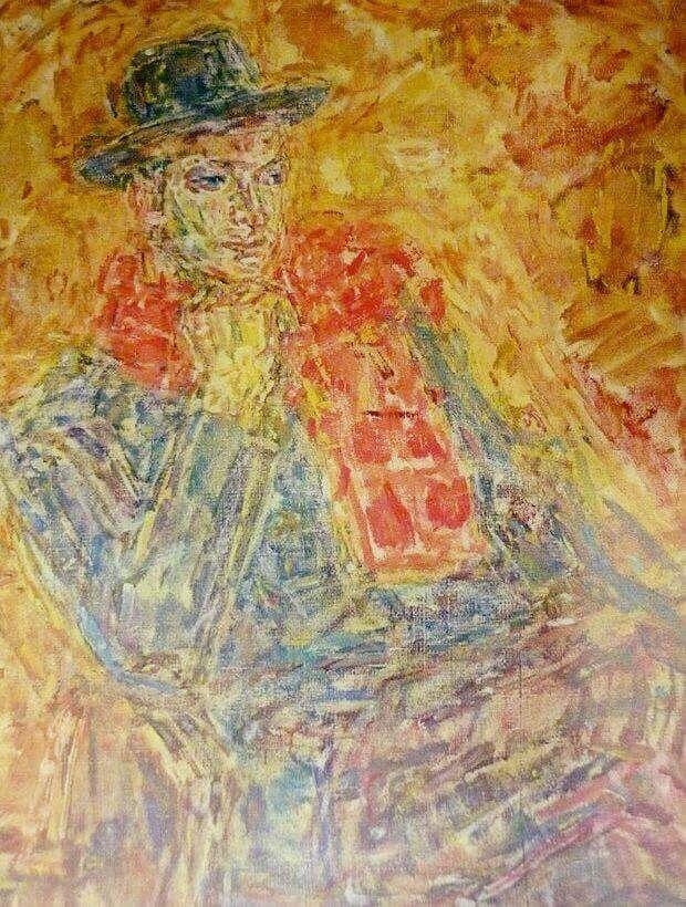 Диффинэ-Кристи портрет артиста