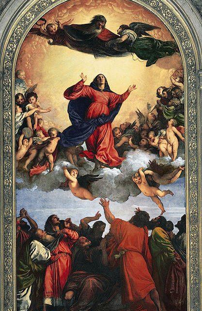 Тициан вознесение марии