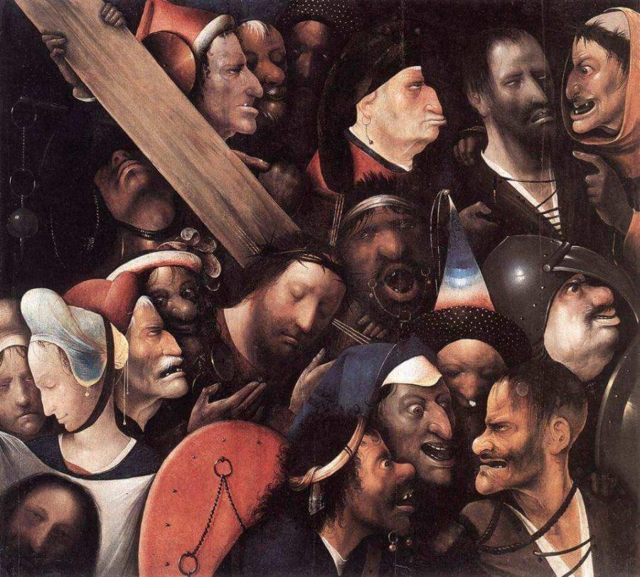 Босх несение креста