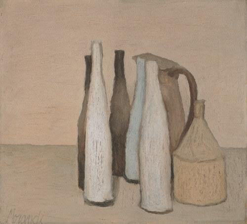 Моранди натюрморт 1951