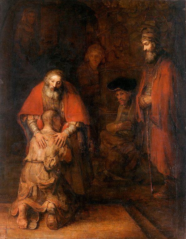 Рембрандт. Возвращение блудного сына.
