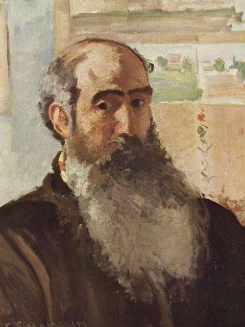 Писсарро автопортрет 1873 года