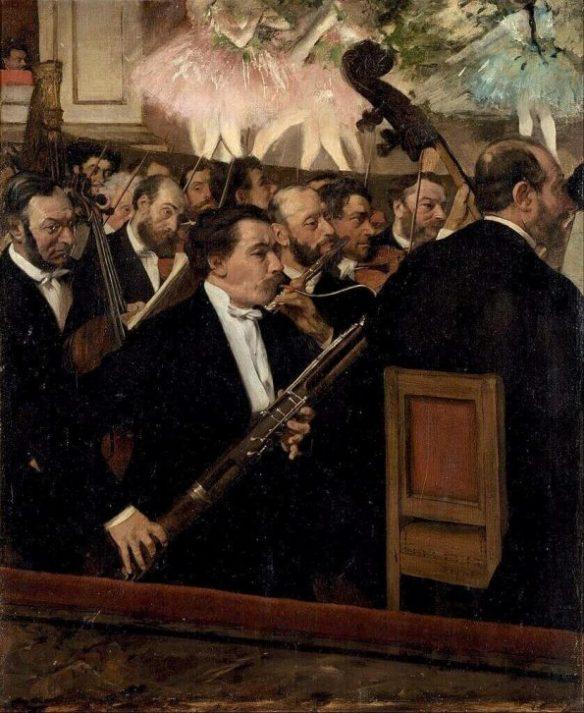 Дега оркестр оперы