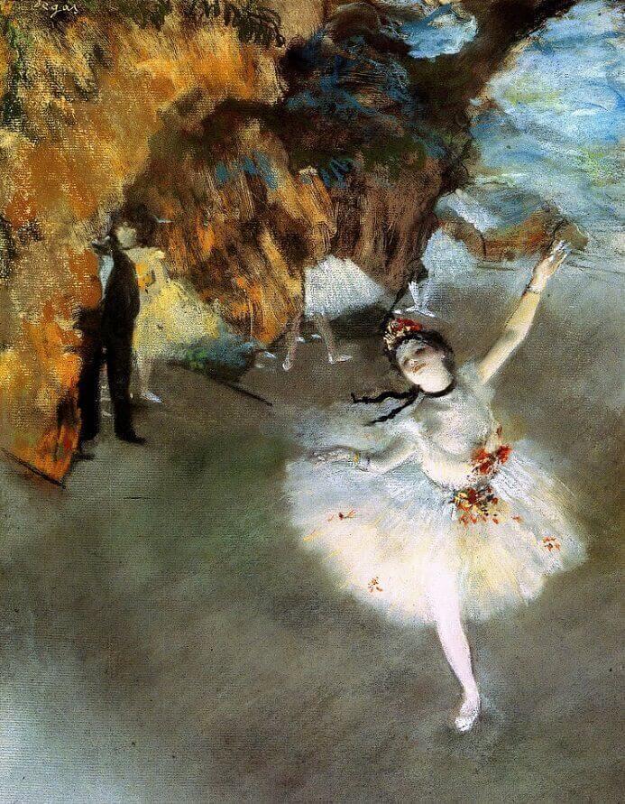 Дега прима балерина