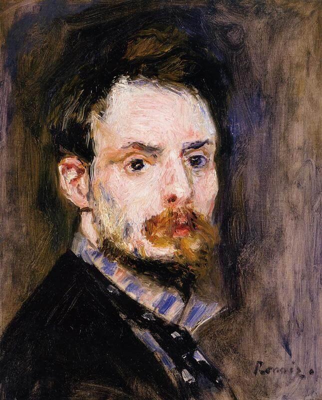 Ренуар автопортрет 1875 года