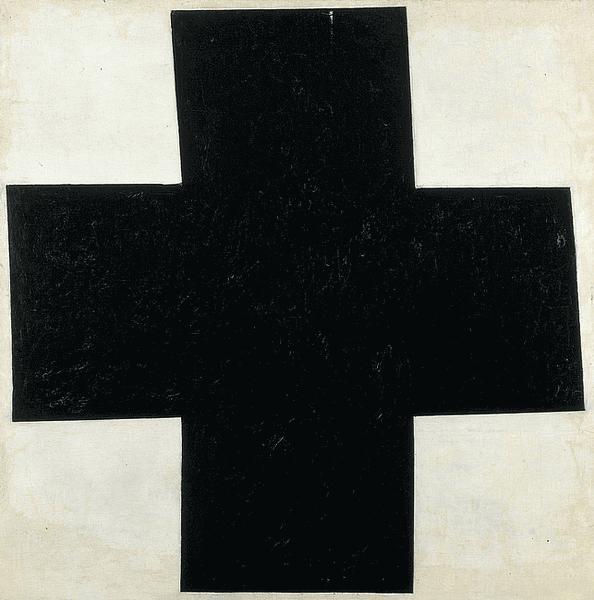 Малевич чёрный крест