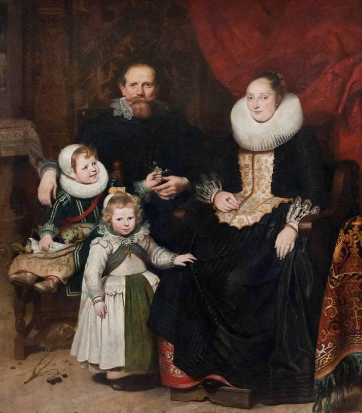 Де Вос семейный портрет