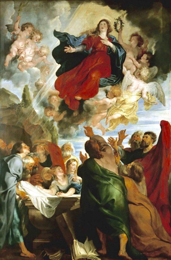 Рубенс вознесение Марии