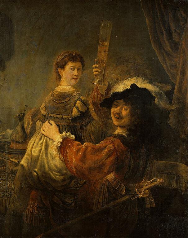 Рембрандт Блудный сын в таверне