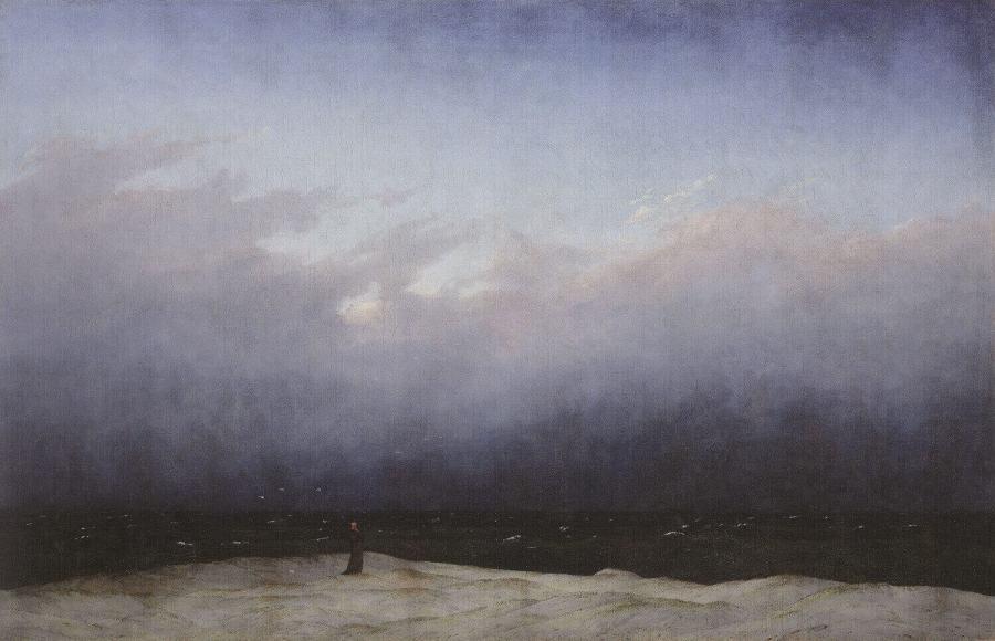 Каспар Фридрих монах у моря