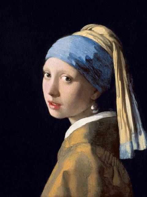 Вермеер девушка с жемчужной серёжкой